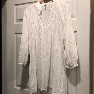 Lauren Ralph Lauren white Tunic Pheasant top